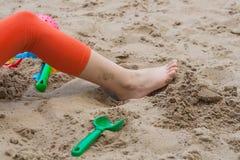 Игры лета Формы для игры с песком Стоковое Изображение RF