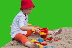 Игры лета Формы для игры с песком Стоковая Фотография RF