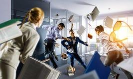 Игры команды дела Мультимедиа стоковое фото rf