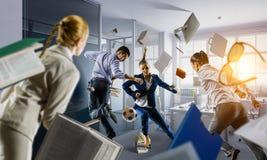 Игры команды дела Мультимедиа стоковое изображение rf