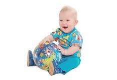 игры малыша шарика Стоковые Фотографии RF