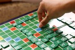 Игры математики студентов Стоковые Фото