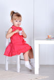 Игры маленькой девочки Стоковые Фото