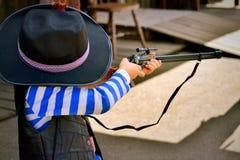 Игры мальчика Стоковая Фотография RF