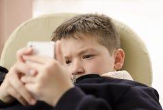 Игры мобильного телефона Стоковое Фото