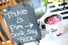 Игры на bridal ливне Стоковая Фотография RF