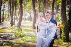 Игры невесты с вуалью Стоковое фото RF