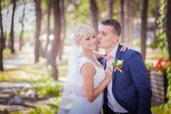 Игры невесты с вуалью Стоковое Фото