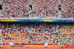 игры поля Пекин смололи paralympic след Стоковое Фото