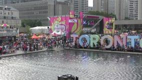 Игры 2015 Торонто panamerican сток-видео