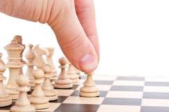 игры человека шахмат Стоковое Фото
