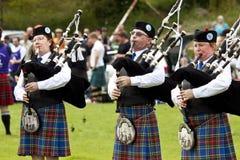 Игры Шотландия гористой местности Стоковые Фото
