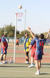 Игры людей лиги Korfball Стоковое Фото