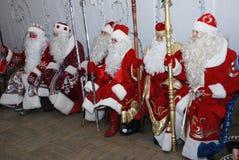 игры karelia Россия santa claus традиционный Стоковая Фотография