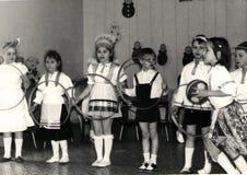 Игры ` s детей в СССР Стоковая Фотография RF