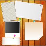 Иглы бумаги и канцелярских принадлежностей Бесплатная Иллюстрация