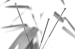 Иглы иглоукалывания Стоковое Изображение RF