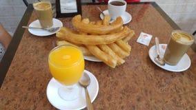 Идеальный завтрак стоковая фотография rf