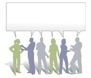 идеи сотрудничества команду иллюстрация штока