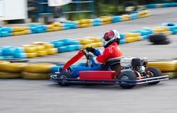 идет гонка kart Стоковое фото RF