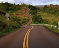 идет дорога Стоковые Фотографии RF