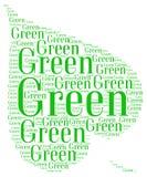 Идет зеленая экологичность Стоковые Фото