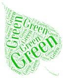 Идет зеленая экологичность Стоковые Изображения RF