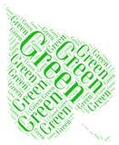 Идет зеленая экологичность Стоковые Фотографии RF