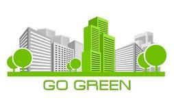 идет зеленый цвет Стоковые Фотографии RF