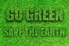 идет зеленый цвет иллюстрация штока