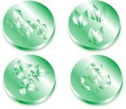 идет зеленый цвет Стоковое Изображение RF