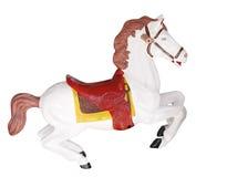 идет круг лошади веселый стоковая фотография