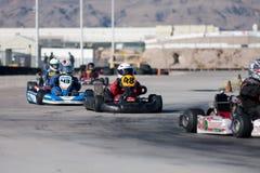идет участвовать в гонке kart Стоковое Изображение RF