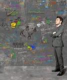 идея бизнесмена новая Стоковая Фотография RF