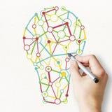 Идея и концепция нововведения бесплатная иллюстрация