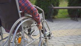 Идея концепции ребенок-инвалида Стоковые Фотографии RF