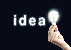 Идея принципиальной схемы Стоковые Изображения