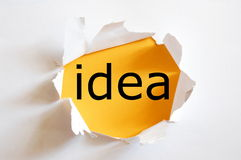 идея творческих способностей стоковое фото