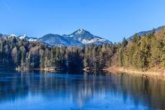 Идиллия на Hechtsee Стоковые Фото