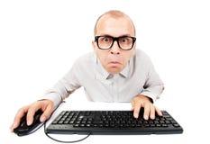 Идиот компьютера Стоковое Изображение RF