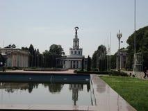 Идите вокруг города взгляда Киева старого здания Стоковые Изображения RF