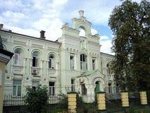 Идите вокруг города взгляда Киева старого здания Стоковое Фото