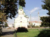 Идите вокруг города взгляда Киева старой церков Стоковая Фотография