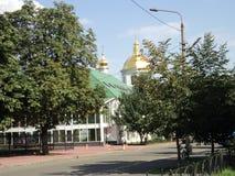 Идите вокруг города взгляда Киева старой церков Стоковое Фото
