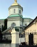 Идите вокруг города взгляда Киева старой церков Стоковое Изображение