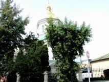 Идите вокруг города взгляда Киева старой церков Стоковое фото RF