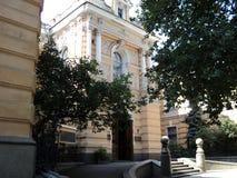 Идите вокруг города взгляда kyiv старых зданий Стоковое Изображение RF