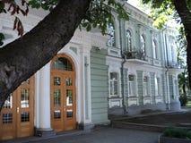 Идите вокруг города взгляда kyiv старых зданий Стоковые Фотографии RF