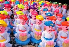 идолы глины стоковое фото