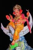Идол лорда Ganesha, Пуны, махарастры, Индии стоковая фотография